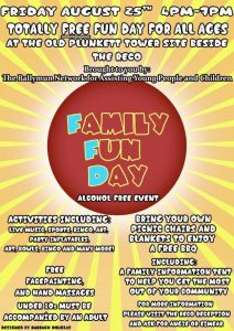 Family Fun Day Aug 17
